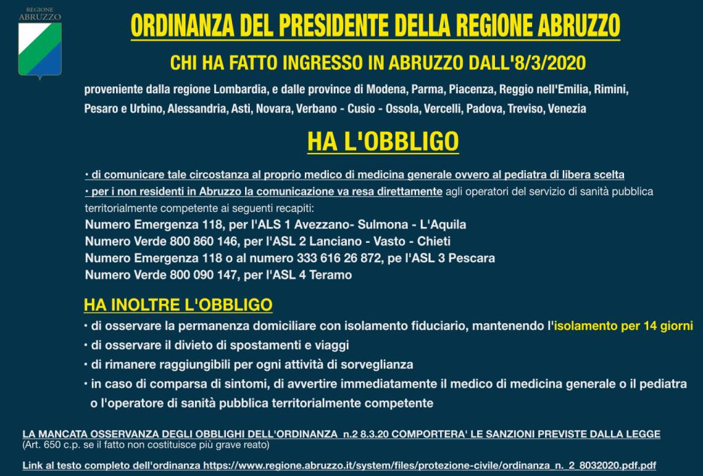 infografica regione abruzzo